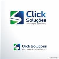 click solucoes, Logo, Limpeza & Serviço para o lar