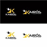 Kairós Skate Shop, Logo e Cartao de Visita, Logística, Entrega & Armazenamento