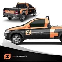 ADESIVACAO CARRO D2F, Sinalização, Construção & Engenharia