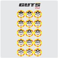 Guts Poker Club, Logo, Artes, Música & Entretenimento