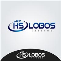 H S LOBOS TELECOM, Logo, Marketing & Comunicação