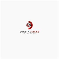 Digital Silks Estamparia, Logo, Roupas, Jóias & Assessorios
