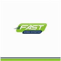 FAST IDIOMAS INTERATIVOS, Logo, Educação & Cursos