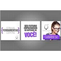 Banner Arroba (290x290) em flash - Empreendedorismo, Peça Gráfica (unidade), Consultoria de Negócios
