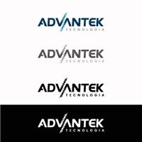 Advantek, Logo e Cartao de Visita, Computador & Internet