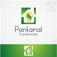 Pantanal Construçoes, Logo, Construção & Engenharia