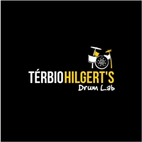 Térbio Hilgert's Drum Lab, Logo e Cartao de Visita, Educação & Cursos