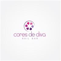 Cores de Diva Nail Bar, Logo, Beleza