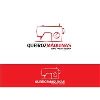 QUEIROZ MAQUINAS - TUDO PARA COSTURA, Logo, Roupas, Jóias & Assessorios