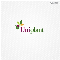 Uniplant, Logo e Cartao de Visita, Ambiental & Natureza