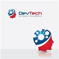DevTech - Software e treinamentos, Logo, Computador & Internet