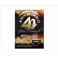 Convite de aniversário 40 anos, Kit Mega Festa, Planejamento de Eventos e Festas