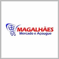 Mercado e Açougue Magalhaes, Tag, Adesivo e Etiqueta, Alimentos & Bebidas