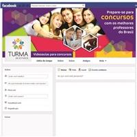 Facebook da Turma de Estudos, Manual da Marca, Educação & Cursos