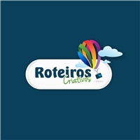 ROTEIROS CRIATIVOS, Logo, Viagens & Lazer