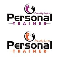Personal Trainer, Logo, Saúde & Nutrição