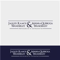 Jaques Ramos Wanderley & Mayara Queiroga Wanderley, Logo, Advocacia e Direito