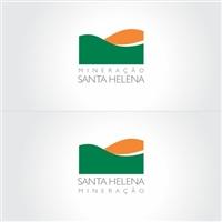 Santa Helena Mineraçao, Logo e Cartao de Visita, mineraçao/produçao de agregados