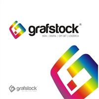 Novo Logotipo Grafstock, Logo e Cartao de Visita, Marketing & Comunicação