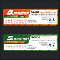Rotulo Baterias SUPREMA, Sacolas Personalizadas, Tecnologia & Ciencias
