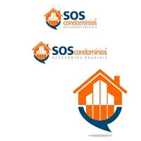 Logotipo SOS Condominios, Logo e Cartao de Visita, Computador & Internet