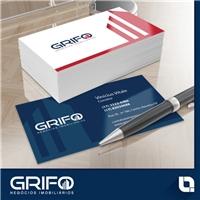 Grifo Negócios imobiliários, Fachada Comercial, Imóveis