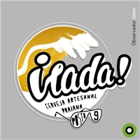 Irada! (principal) // Cerveja Artesanal Praiana (subtítulo/secundário), Logo e Cartao de Visita, Alimentos & Bebidas