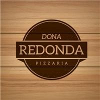 Dona Redonda Pizzaria, Logo, Alimentos & Bebidas