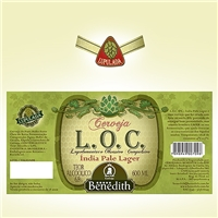 ROTULO CERVEJA BENEDITH L.O.C, Sacolas Personalizadas, Alimentos & Bebidas