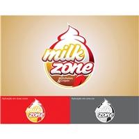 Milkzone, Fachada Comercial, Alimentos & Bebidas