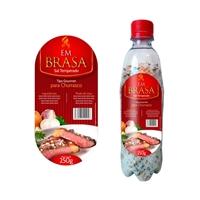 Embalagem sal temperado churrasco, Cartaz/Pôster, Alimentos & Bebidas