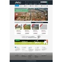 ARJ Empreendimentos Imobiliários Ltda, Logo em 3D, Imóveis