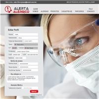 Site Alerta Alérgico, Embalagem (unidade), Computador & Internet