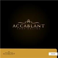 ACCABLANT SHOP ONLINE, Logo e Cartao de Visita, Roupas, Jóias & Assessorios