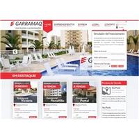Garramaq Construtora e Incorporadora, Logo em 3D, Imóveis
