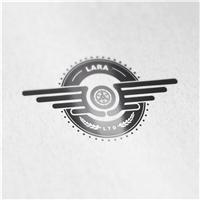 LARA live the dream, Logo e Cartao de Visita, Automotivo