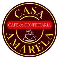 Casa Amarela Café & Confeitaria, Logo, Alimentos & Bebidas