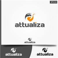 Attualiza, Logo, Computador & Internet