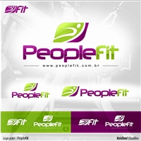 People Fit, Logo e Cartao de Visita, Metal & Energia