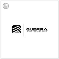GUERRA EMPREENDIMENTOS LTDA, Logo e Cartao de Visita, Construção & Engenharia