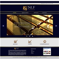 NLF GoldTrade Comercial Exportaçao e Exportaçao Ltda, Logo em 3D, Contabilidade & Finanças