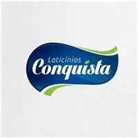 Laticínios Conquista, Logo e Cartao de Visita, Alimentos & Bebidas