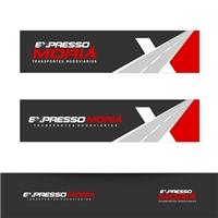 EXPRESSO MORIA TRANSPORTES RODOVIARIOS, Logo, Logística, Entrega & Armazenamento