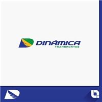 Dinâmica Transportes, Logo, Logística, Entrega & Armazenamento