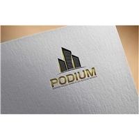 Podium Administraçao venda e locaçao de imoveis, Logo, Imóveis