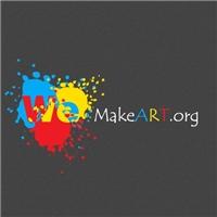 WeMakeArt.org, Logo, Artes, Música & Entretenimento