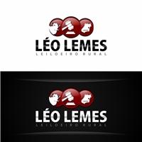 LEO LEMES LEILOEIRO RURAL, Logo e Cartao de Visita, Consultoria de Negócios