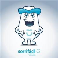 Mascote Sorrifácil, Folheto ou Cartaz (sem dobra), Saúde & Nutrição