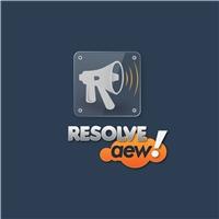 Resolve aew!, Logo, Marketing & Comunicação