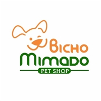 Bicho Mimado Pet Shop, Logo, Animais